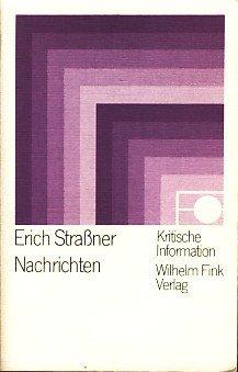 Erich Straßner Nachrichten 1975